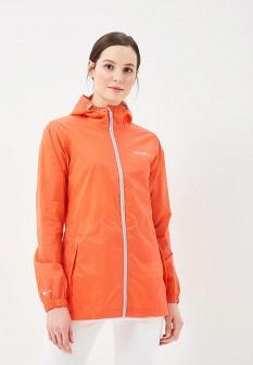 Женская оранжевая осенняя куртка