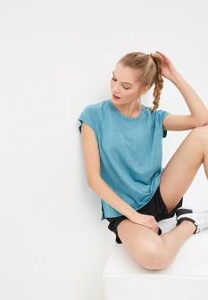 Женская бирюзовая футболка Reebok