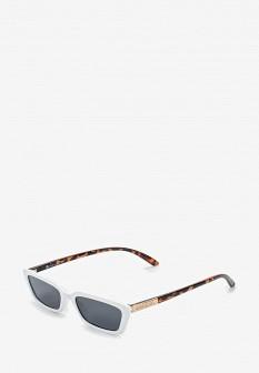 Женские белые солнцезащитные очки