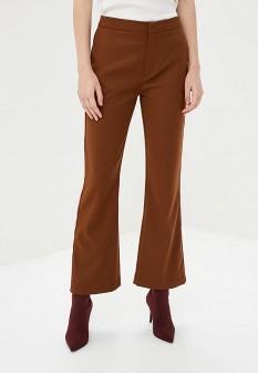 Женские коричневые итальянские осенние брюки