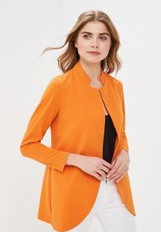 Женский оранжевый итальянский жакет