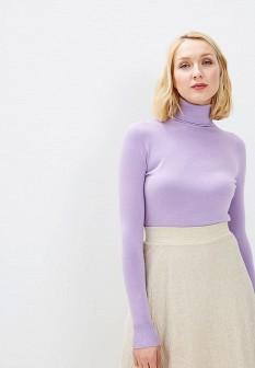 Женская фиолетовая итальянская водолазка