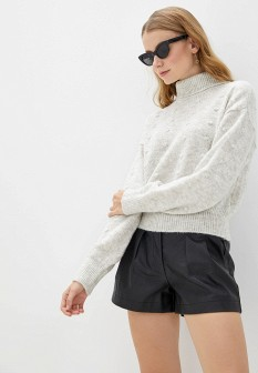 Женский серый итальянский осенний свитер