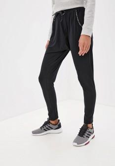 Женские черные осенние спортивные брюки