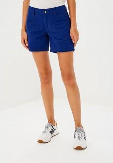 Женские синие осенние шорты