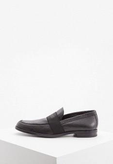 Мужские итальянские осенние кожаные туфли лоферы