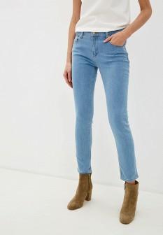 Женские голубые осенние джинсы