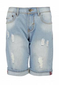 Мужские голубые осенние шорты