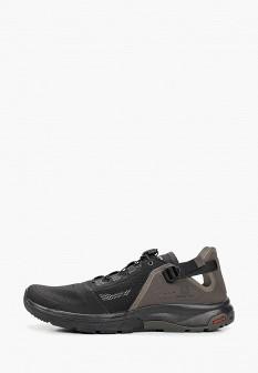 Мужские черные сандалии SALOMON
