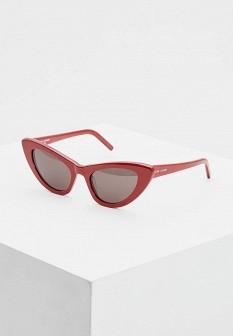 Женские красные итальянские солнцезащитные очки