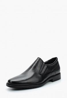 Мужские черные немецкие кожаные туфли лоферы