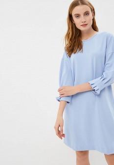 Голубое платье SELA