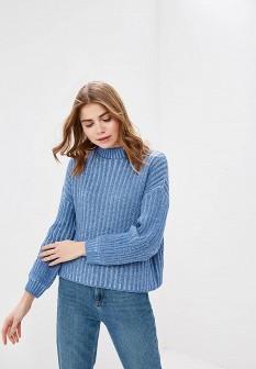 Женский голубой свитер SELA