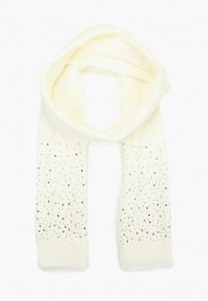 Женский белый осенний шарф SELA