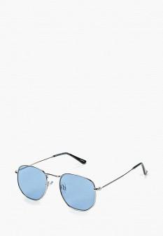 Мужские серебряные солнцезащитные очки