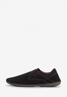 Мужские синие туфли лоферы Shoiberg