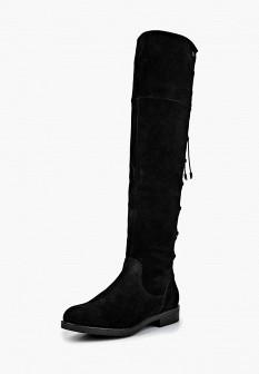Черные осенние ботфорты Shoiberg