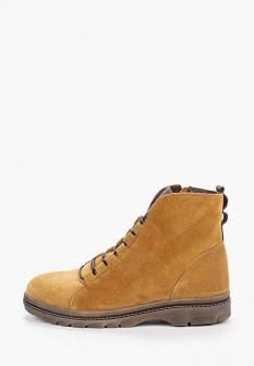 Женские бежевые осенние ботинки