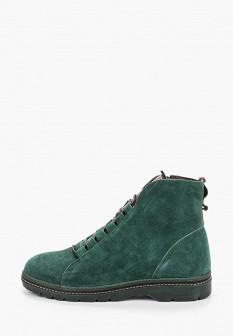 Женские зеленые осенние ботинки
