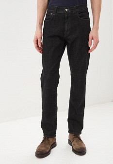 Мужские черные джинсы Sisley