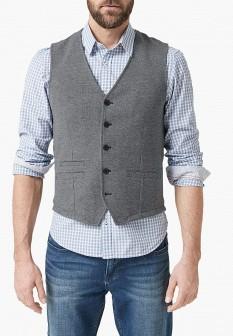 Мужской серый жилет S.OLIVER