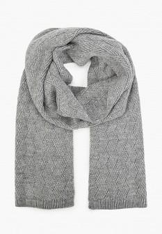 Женский серый осенний шарф S.OLIVER