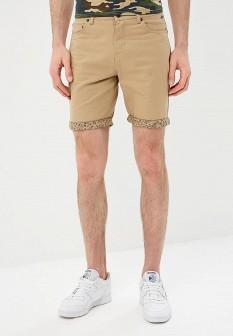 Мужские бежевые шорты Solid