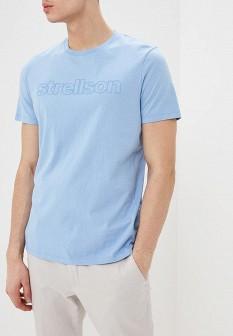 Мужская голубая футболка Strellson