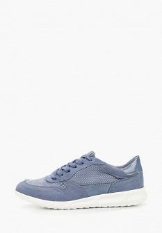 Женские синие кроссовки Tamaris