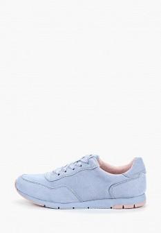 Женские голубые кроссовки Tamaris
