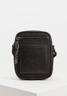 Мужская черная осенняя сумка