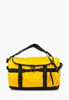Мужская желтая осенняя спортивная сумка