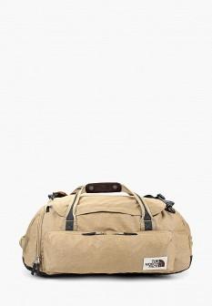Женская бежевая дорожная сумка