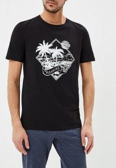 Мужская черная футболка TORRO
