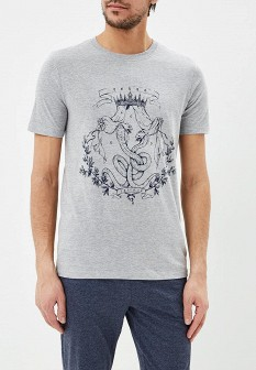 Мужская серая футболка TORRO