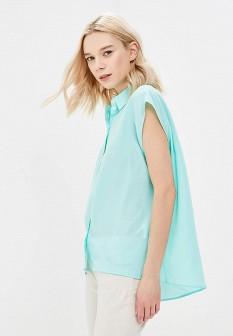 Бирюзовая блузка TOM FARR