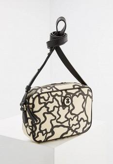 Женская белая кожаная сумка TOUS