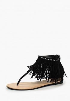 Женские черные сандалии Topway