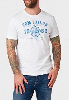 Мужская белая немецкая футболка