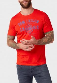 Мужская красная немецкая футболка