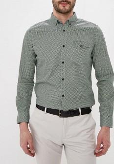 Мужская зеленая рубашка TOM TAILOR