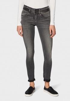 Женские серые осенние джинсы