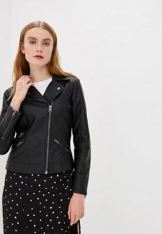 Женское черное осеннее пальто