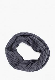 Мужской серый осенний шарф TOM TAILOR