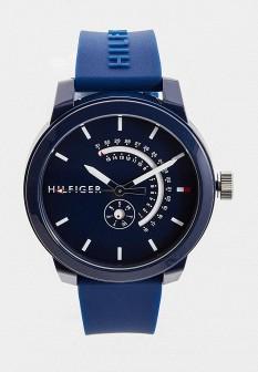 Мужские синие часы Tommy Hilfiger