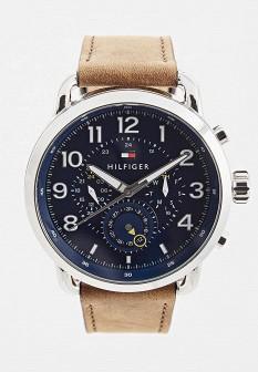 Мужские коричневые часы Tommy Hilfiger