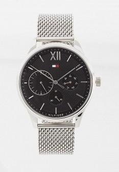 Мужские серые часы Tommy Hilfiger