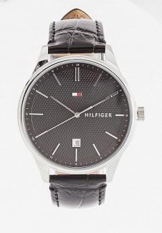 Мужские осенние серебряные часы