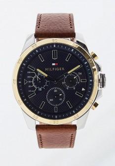 Мужские коричневые осенние часы
