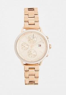 Женские золотые часы Tommy Hilfiger